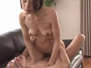 Asian MILF wants to fuck and son's dick is exactly she needs