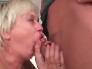 Female makes son happy with help of skilled mouth