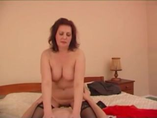 Curvy dame is mother and she knows how to please sonny