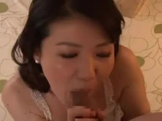 Japanese dame adores to get screwed by her stepson