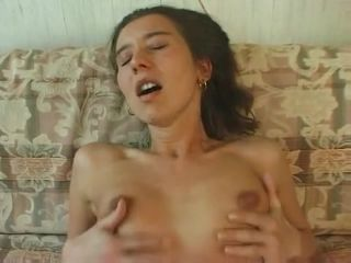 Big hound's pecker easily slides in and out of girly anus