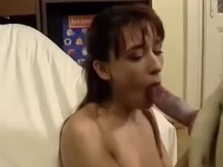 Aroused girl give oral pleasure to her puppy